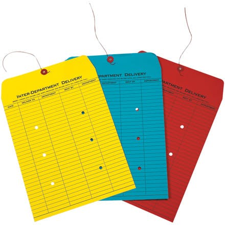 Colored Inter-Department Envelopes Envelope sold by Ameripak, Inc.
