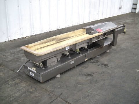 Smalley Vibratory Shaker Stainless Steel Conveyor (E5037) - sold by Sigma Packaging