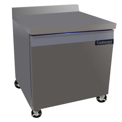 "Continental Refrigerator - SW32-BS 32"" Worktop Refrigerator Commercial refrigerator sold by Food Service Warehouse"
