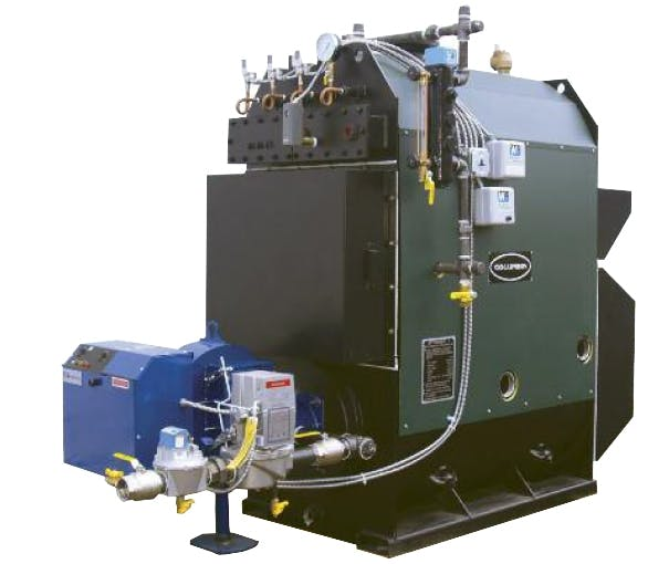 "Columbia Boiler MPH  50 HP 2"" Tube Bare Boiler Steam boilers Steam boiler sold by Prospero Equipment Corp."