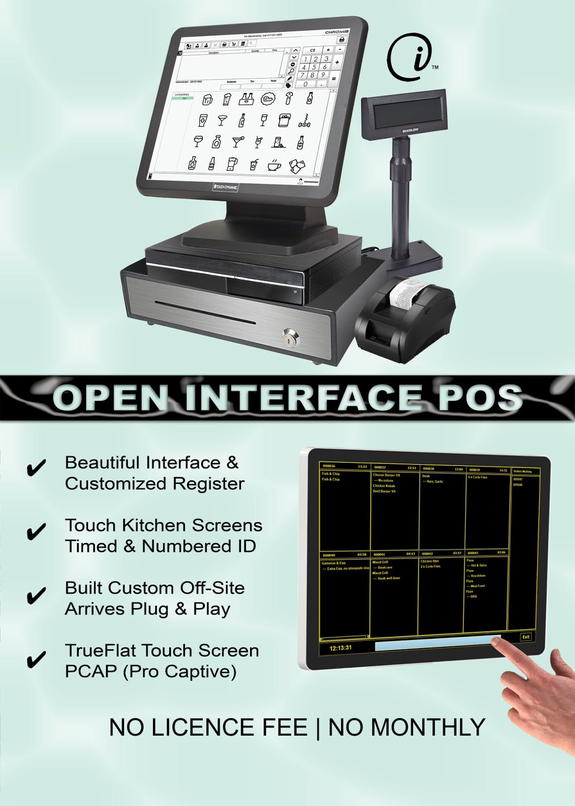 Open Interface POS, MADE IN THE USA - Open Interface POS - sold by Open Interface INC