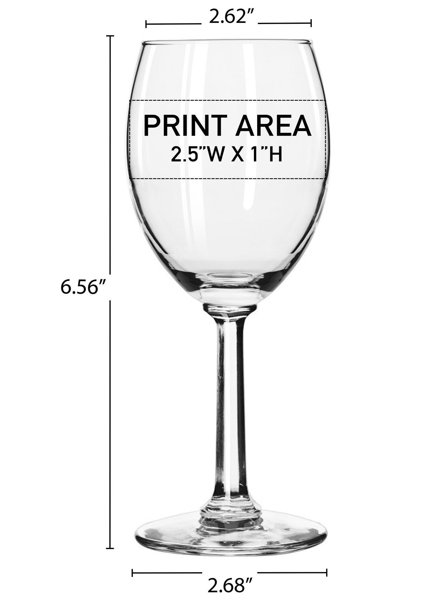 8.5 oz. Optic Stem Wine #302 - sold by Clearwater Gear