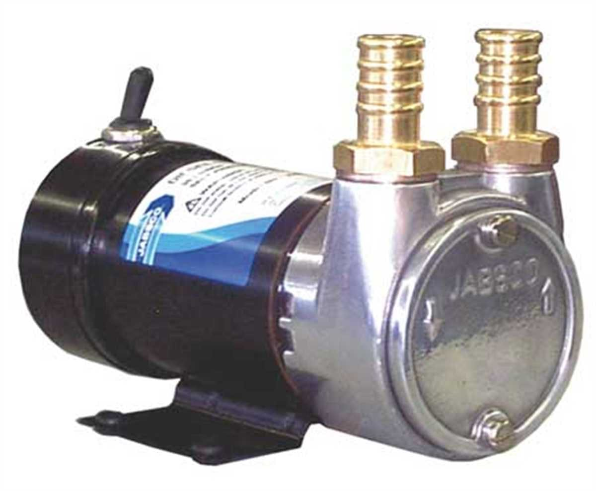 Jabsco 23870-1200 Pump, Vane, Aluminum, Inlet/Outlet 3/4 HB Sanitary pump sold by Janeice Products Co Inc.
