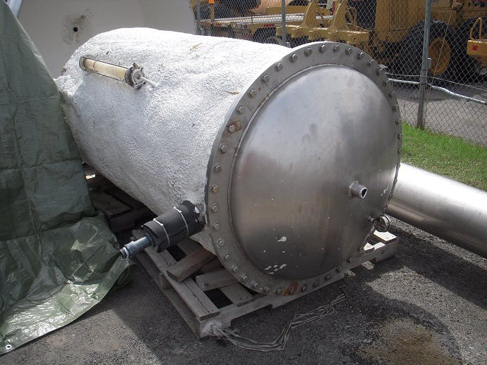 Pressure tank - 2100 liters (555 gallons) Air tank sold by Aevos Equipment