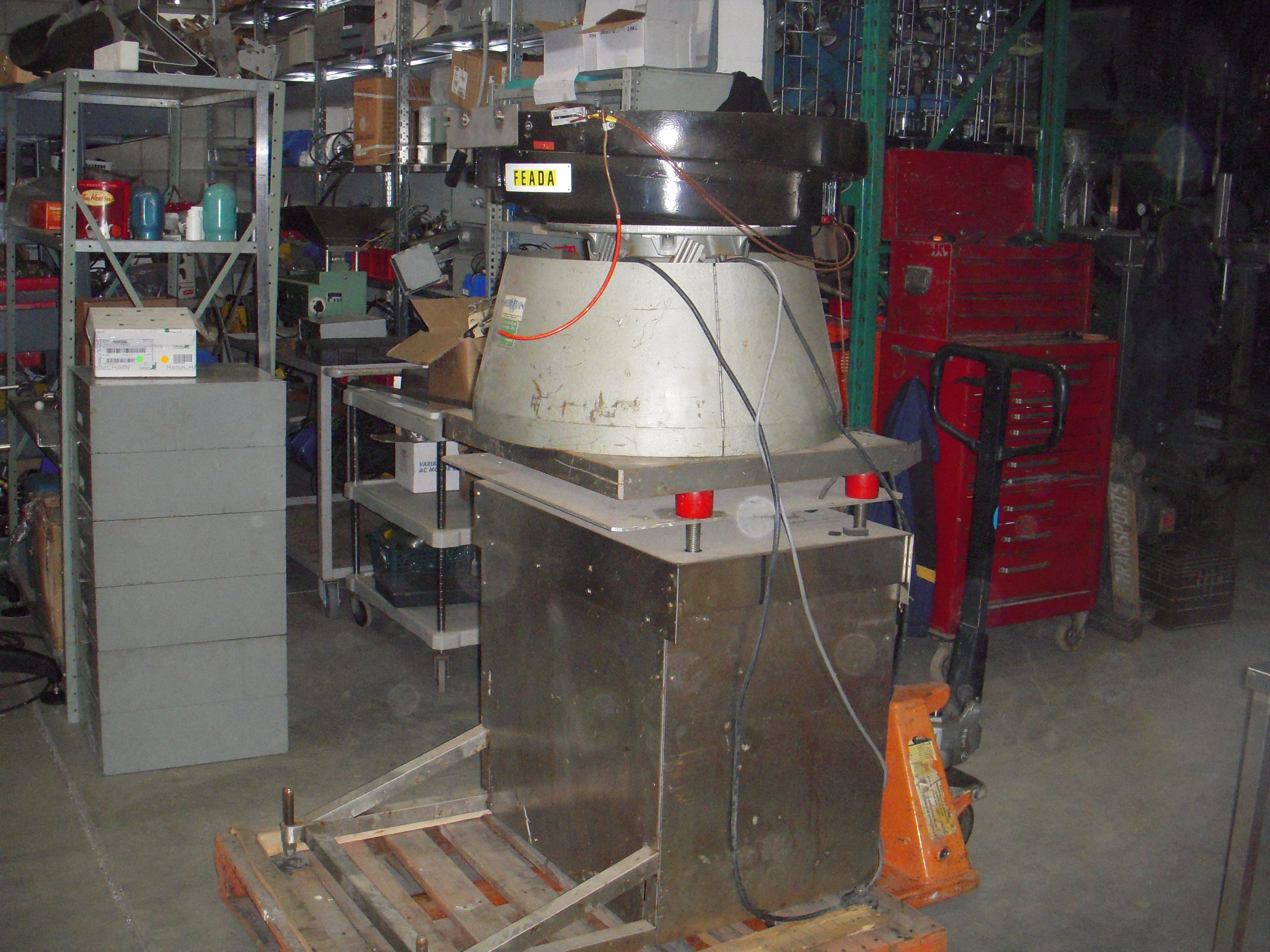 DT INDUSTRIES KALISH Vibratory Bowl Feeder