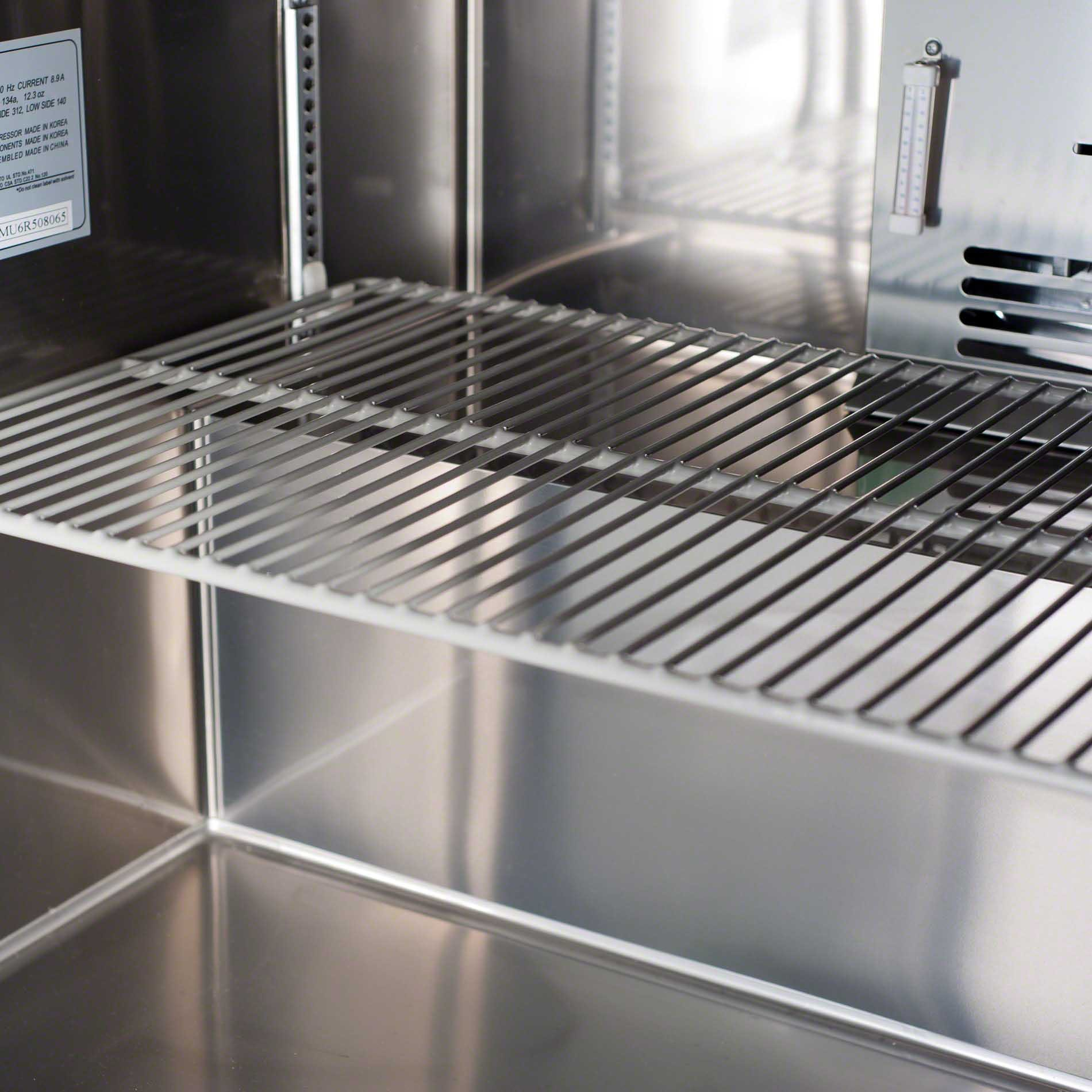 "Turbo Air ( MUF-60 ) - 60"" Undercounter Freezer – M3 Series Commercial freezer sold by Food Service Warehouse"