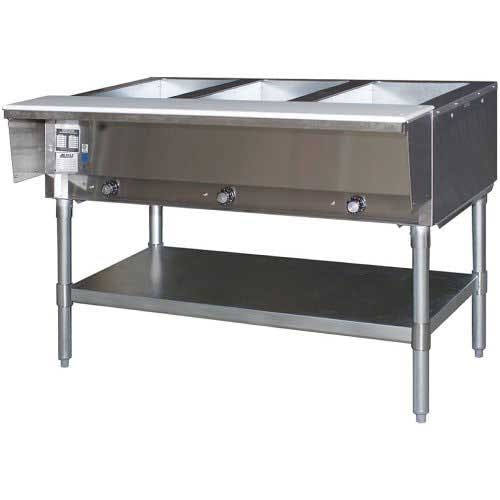 Eagle (HT3-NG) - 3-Well Gas Hot Food Table Steam table sold by Food Service Warehouse