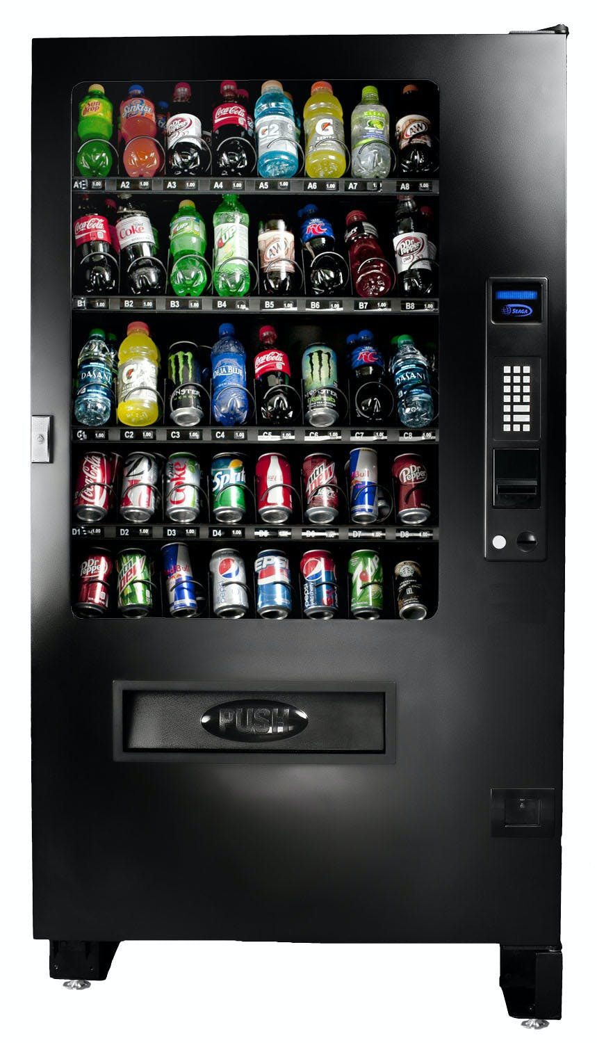 Shermco model 6 Vending machine sold by Shermco Vending