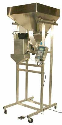 Weigh Fill Systems S4 Filling machine sold by Crystal Vision Packaging Systems