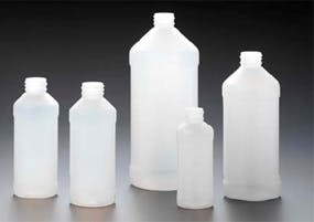 Modern Rounds Plastic bottle sold by Kaufman Container Company