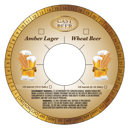 Keg Collars - sold by Brewery Shack