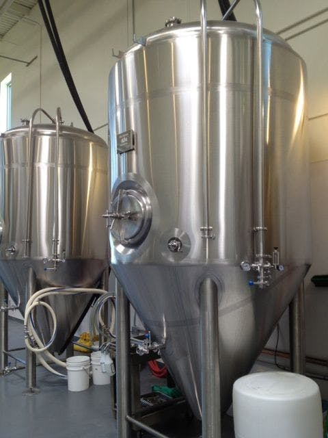 30 bbl Fermenter Fermenter sold by Ager Tank & Equipment Co.