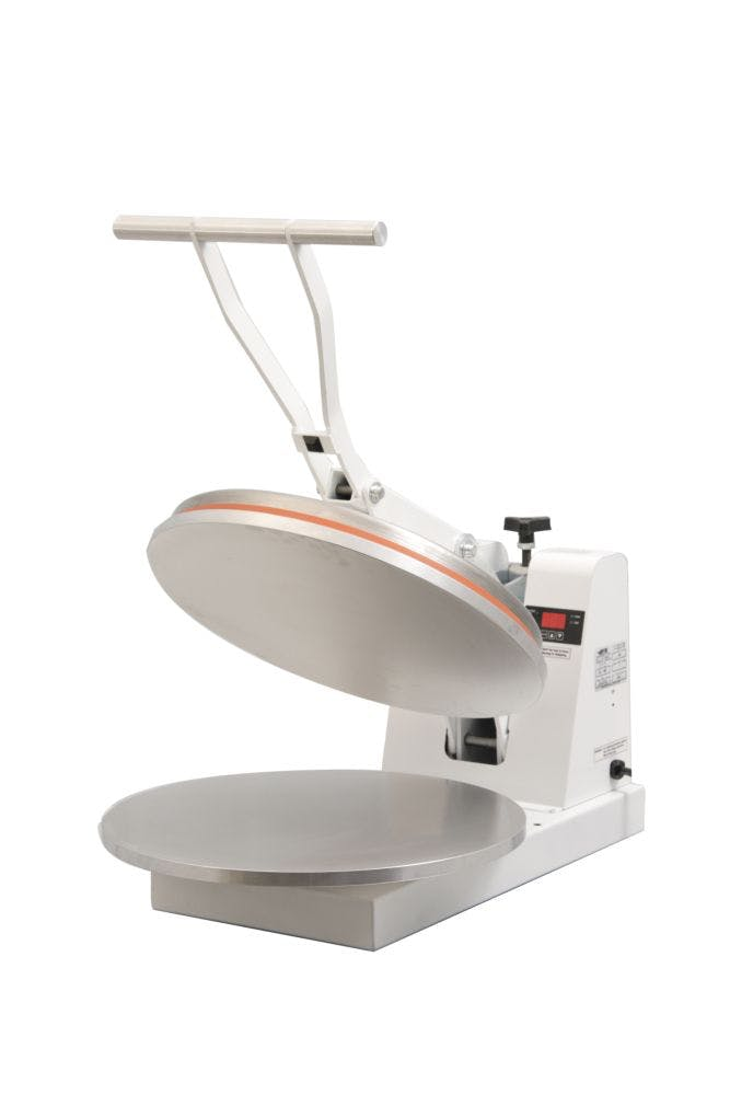 "DoughXpress DM-18 Pizza Dough Press (up to 18"" diameter) Dough press sold by pizzaovens.com"