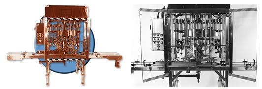 Rotary Filling Machinery Bottle filler sold by Filling Equipment Co., Inc.