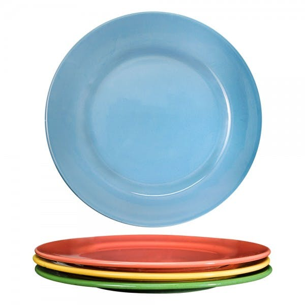 "Festivale 12"" Assorted Colors Dinner Plate"