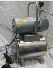 3/4 HP Mini-Milker pump package Vacuum pump sold by Simple Milking Equipment