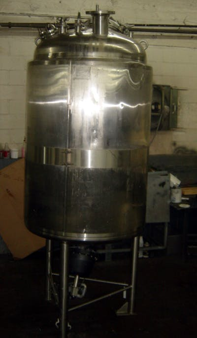 MUELLER 300-GAL SS INSULATED TANK W/PROP MIXR Mixing tank sold by Union Standard Equipment Co