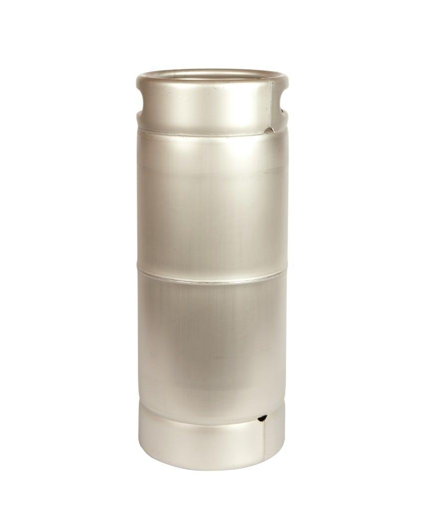 "NEW!  1/6 Barrel Commercial Keg with Sankey ""D"" Spear. Keg sold by All Safe Global, Inc."