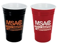 Party Cup 18 Oz. Plastic cup sold by Dechan, Inc. II
