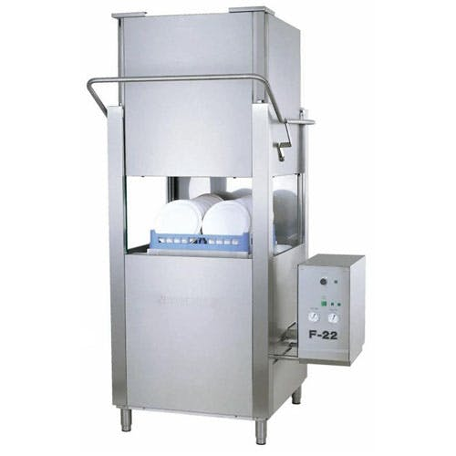 Jet-Tech - Dishwasher, Upright Door Type High Temp. - 208/240V - F-22 Commercial dishwasher sold by ChefsFirst