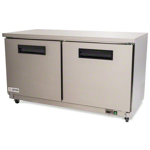 "Saturn Equipment ( PUC60F ) - 61"" Undercounter Freezer - Value Series Commercial freezer sold by Food Service Warehouse"