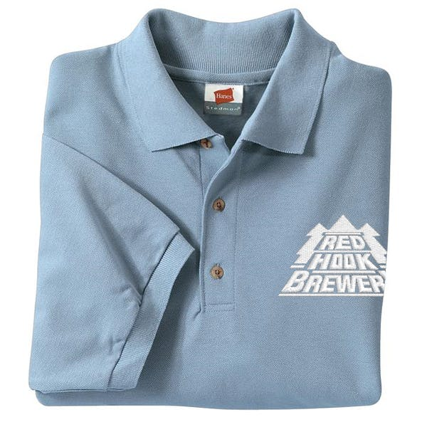 Hanes Stedman - 7-Ounce Pique Knit Sport Shirt Promotional shirt sold by MicrobrewMarketing.com