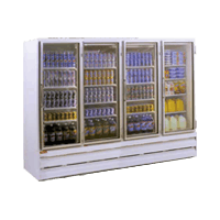Display Reach in Commercial refrigerator sold by WARREN REFRIGERATION CORPORATION