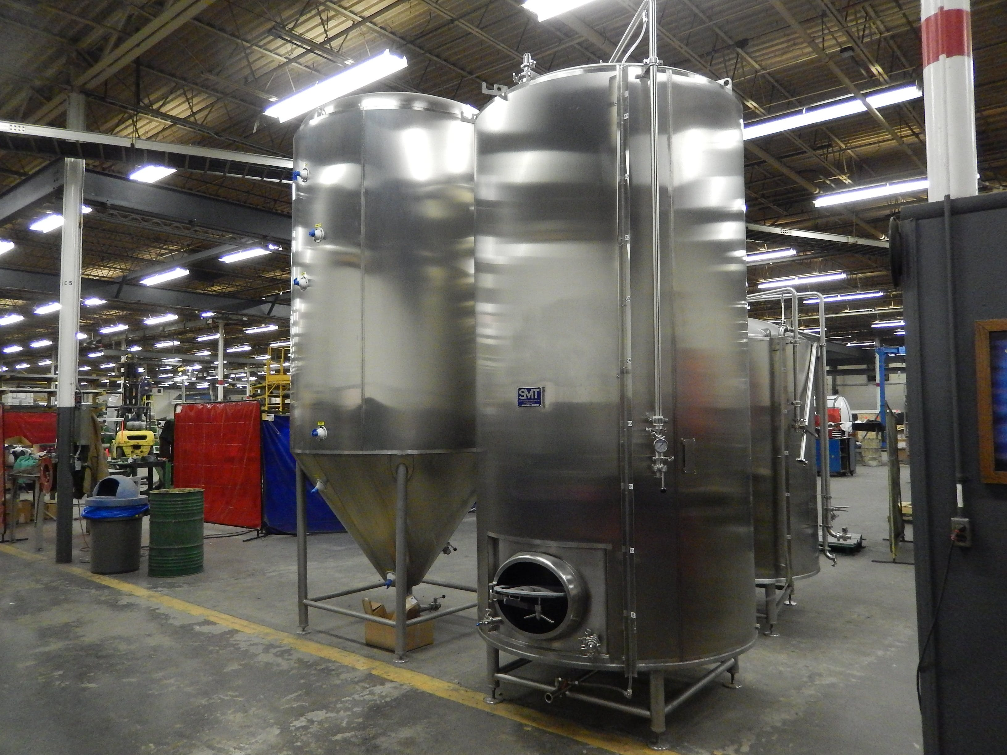 Brewhouse & Cellar tanks Brewhouse sold by Smart Machine Technologies, Inc