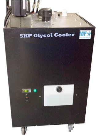 5 HP Brewery Glycol Pack Glycol chiller sold by KegWorks