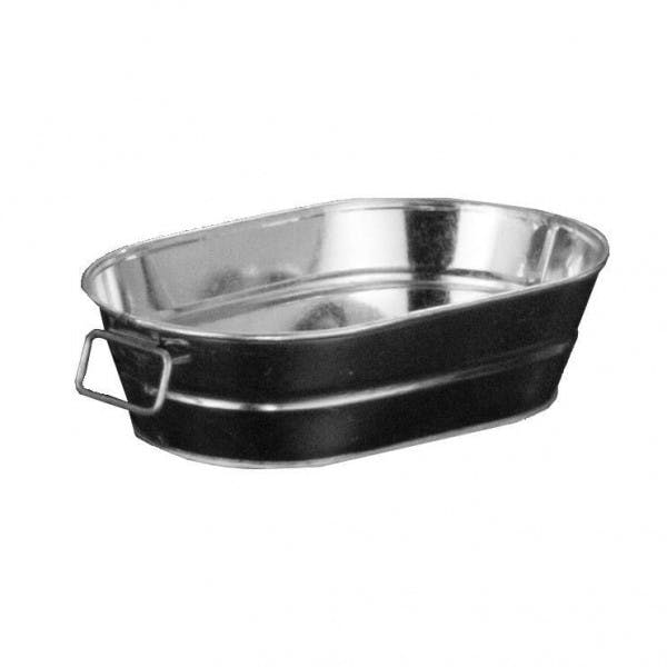 24 oz. Oval Galvanized Tin Tub