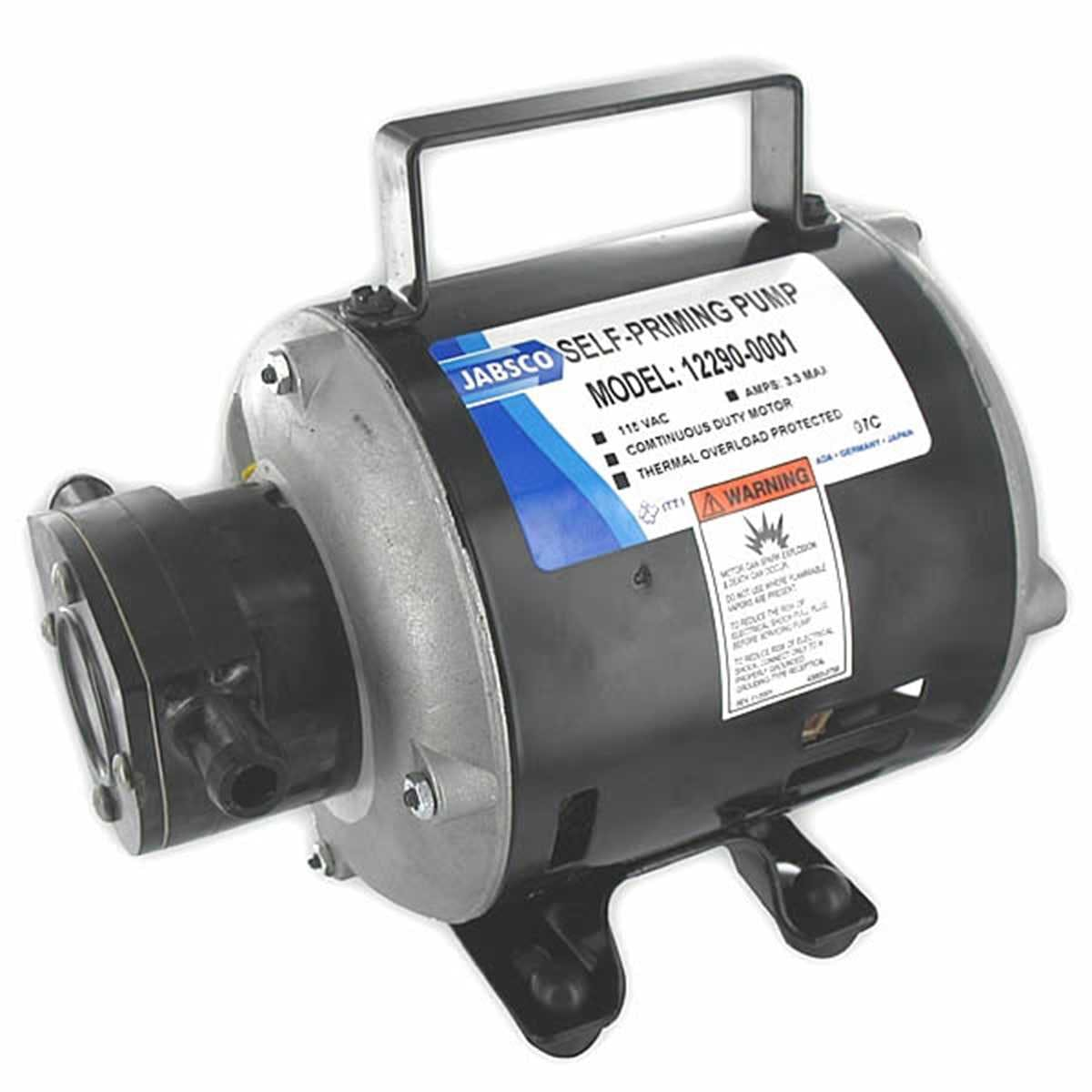 Jabsco 18680-1000 Sliding Vane Utility/Diesel Pump Sanitary pump sold by Janeice Products Co Inc.