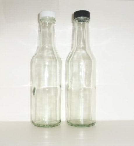 8oz. Steak sauce glass bottles Glass bottle sold by Cape Bottle Company, Inc.