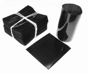 Black Shrink Bands for Bottles with 28mm Finish Shrink band sold by Fillmore Container Inc