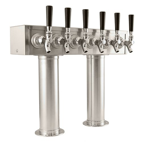 Passthrough/H-Style Beer Dispensers Draft beer tower sold by Draft Warehouse