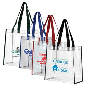 Clear Tote Bag (Item # VAKLN-JYHMA) Bag sold by InkEasy