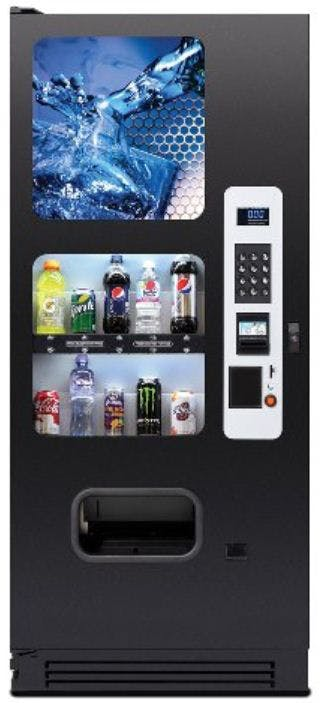 10 Selection Drink Vending Machine Vending machine sold by eVending.com