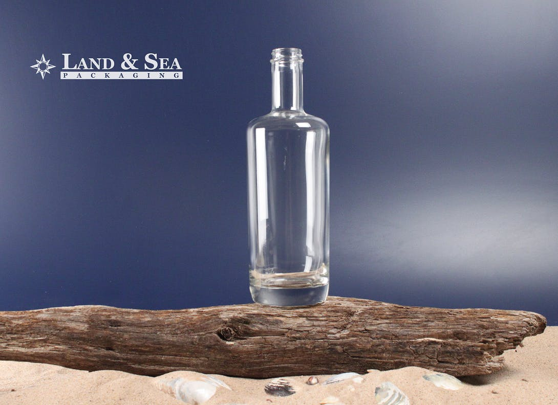 Oxygen Spirit Bottle Liquor bottle sold by Land & Sea Packaging