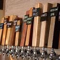 Seasonal Series Tap Handles with Tap Sign removable chalkboards. - Tap handle sold by Half Yankee Workshop