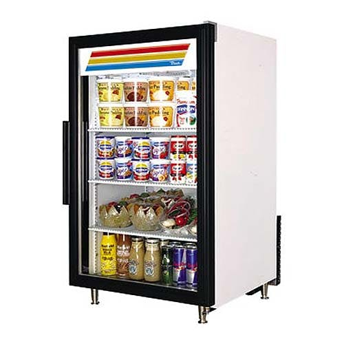 "True - GDM-7 24"" Countertop Glass Door Merchandiser Refrigerator Commercial refrigerator sold by Food Service Warehouse"
