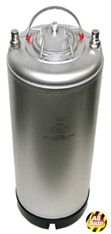 NEW! AEB Single Handle 5 Gallon Kegs Keg sold by All Safe Global, Inc.