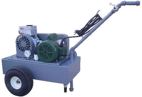 Deluxe Model Vacuum pump Vacuum pump sold by Simple Milking Equipment