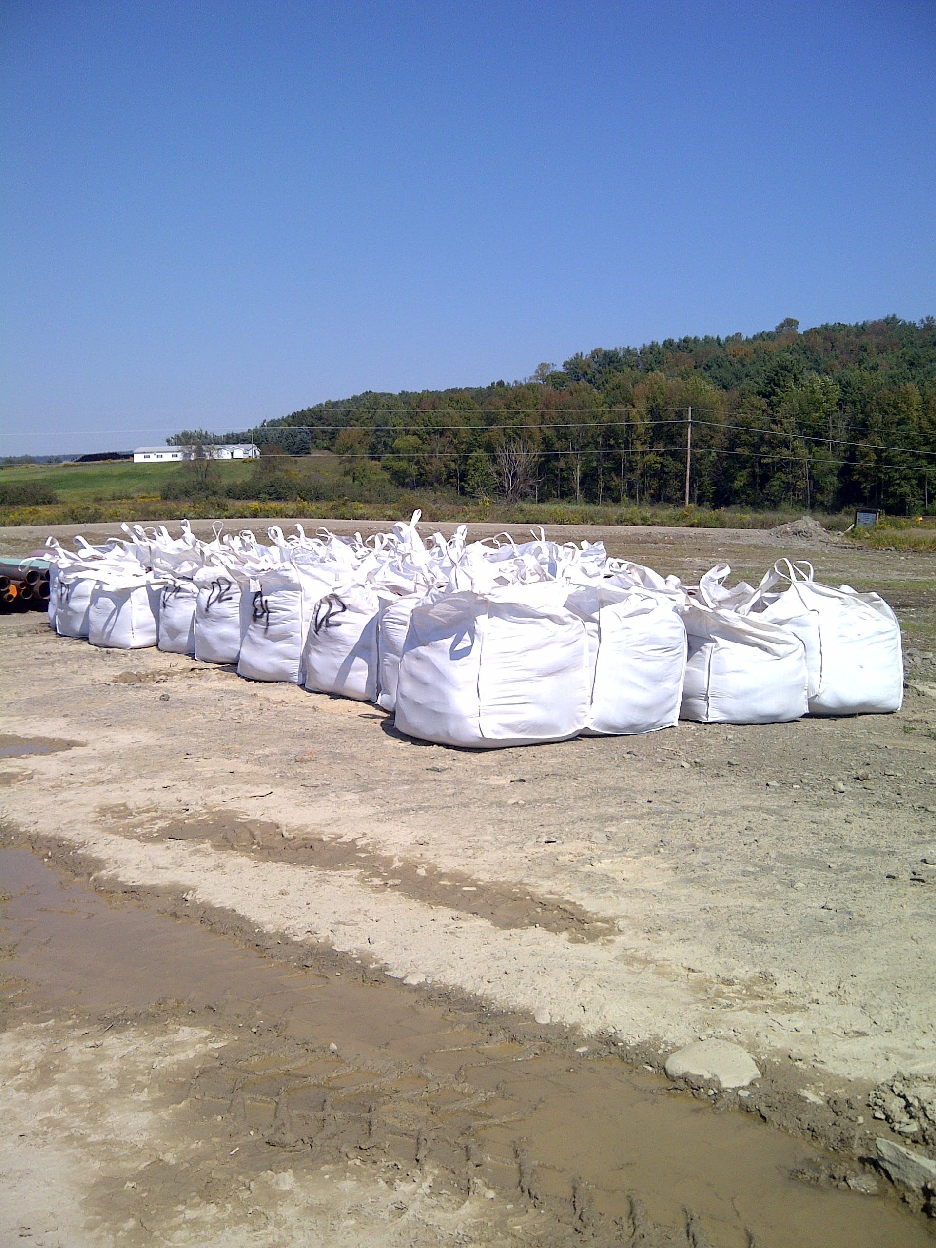 Sand Bags Intermediate bulk container sold by Dino Bags