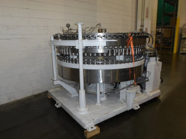 Used CROWN 72 Valve Can Filler For Sale Can filler sold by SMB Machinery Systems