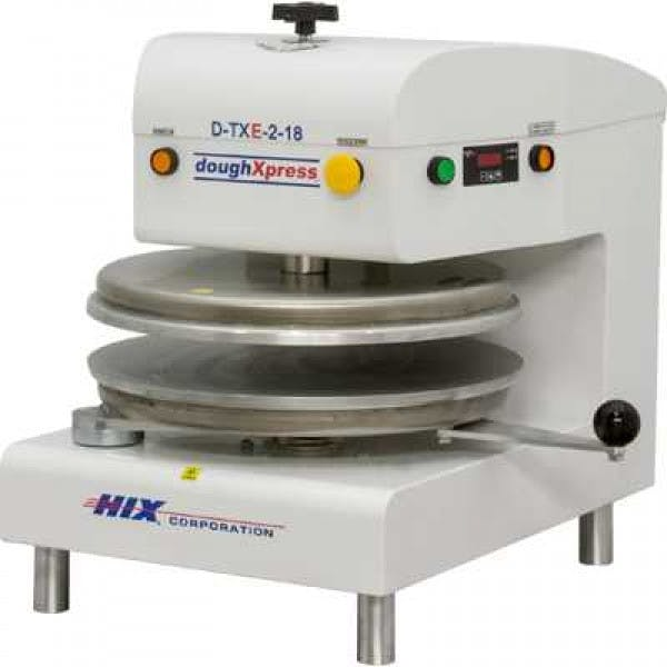 "18"" White Stainless Automatic Electric Dough Press"