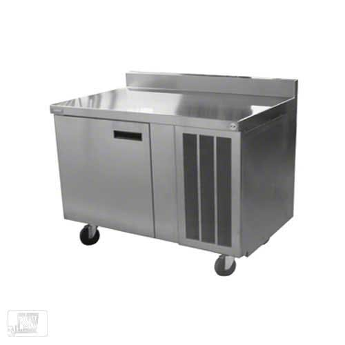 "Delfield - 18648BSTM 48"" Refrigerated Work Table w/ Backsplash Commercial refrigerator sold by Food Service Warehouse"