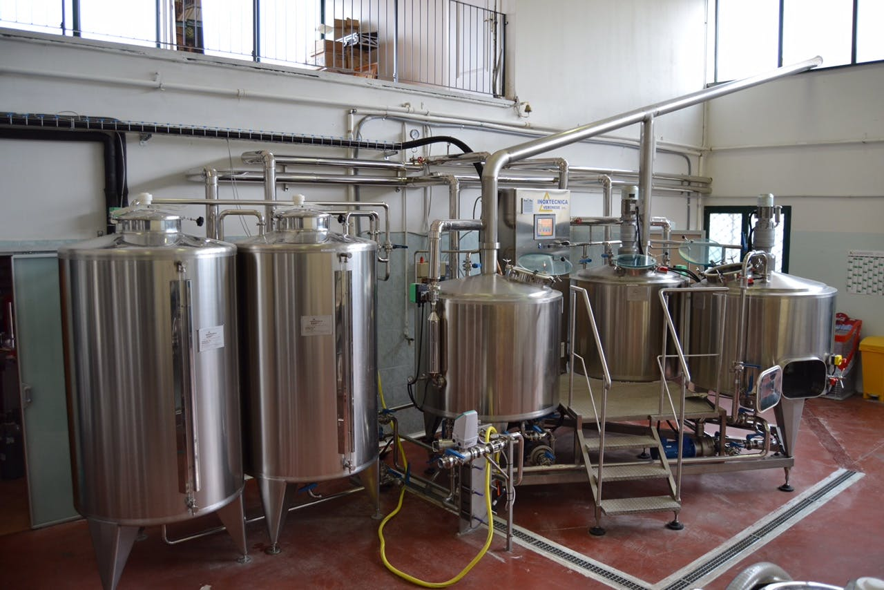 Brewhouse, 3-vessel Brewhouse sold by Spec Trellising