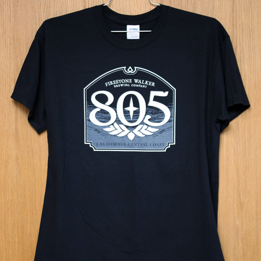 100% cotton promo tee - Firestone Walker 805  Promotional shirt sold by Brewery Outfitters