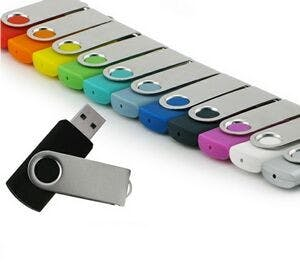 4 GB Swivel 700 Series Promotional flash drive sold by Ink Splash Promos™, LLC