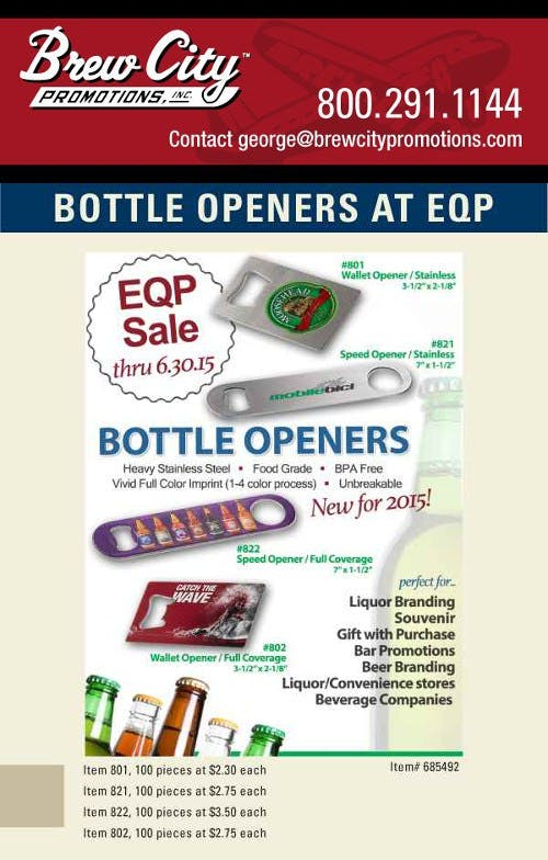 Bottle Openers Bottle opener sold by Distrimatics, USA