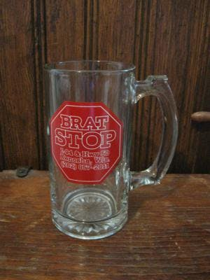 12 oz. Sport Mug Beer glass sold by Promotional Concepts of Wisconsin